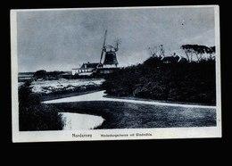 A5516) Ansichtskarte Norderney Hindenburgschanze Mit Windmühle Ungebraucht - Norderney