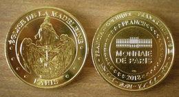 France Eglise De La Madeine 2018 Messe Johnny Hallyday Chaque Semaine Medaille Monnaie De Paris Skrill Paypal Bitcoin OK - Monnaie De Paris
