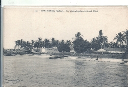 GABON - PORT GENTIL - Vue Générale Du Grand Wharf - Gabon