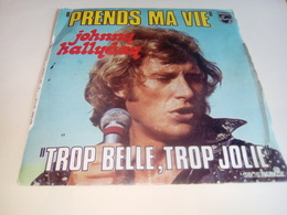 """JOHNNY HALLYDAY """"Prends Ma Vie"""" - Rock"""