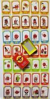 ANCIEN JEU DE CARTES COMPLET DE 7 SEPT FAMILLES WESTERN CIRQUE TRAVAUX SPORTIF GRIMACE DEGUISEMENT MUSICIEN - Group Games, Parlour Games
