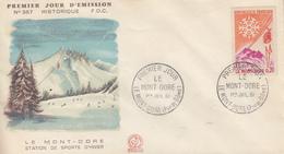 Enveloppe  FDC  1er  Jour   FRANCE   Le   MONT - DORE   1961 - 1960-1969