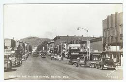 ROLLINS (Wyo) - Cedar St. And Business District   -   (voitures) - Etats-Unis