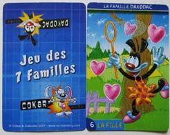 ANCIEN JEU DE CARTES COMPLET DE 7 SEPT FAMILLES COKAR & DAKODAC - Group Games, Parlour Games