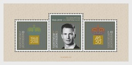 Liechtenstein - Postfris / MNH - Sheet 50e Verjaardag Prins Alois 2018 - Liechtenstein