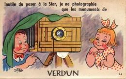 55 VERDUN Carte Système - Verdun
