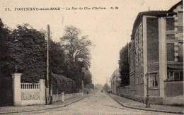 94 FONTENAY-sous-BOIS  La Rue Du Clos D'Orléans - Fontenay Sous Bois