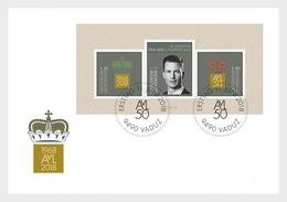 Liechtenstein - Postfris / MNH - FDC Sheet 50e Verjaardag Prins Alois 2018 - Liechtenstein