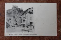 GUILLAUMES (06) - CHATEAU DE GUILLAUMES - France