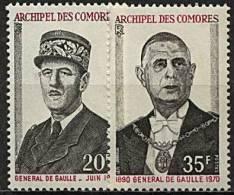 Comores, N° 077 à N ° 078** Y Et T, 77 / 78 - Unused Stamps
