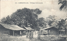GABON - LIBREVILLE -Village Gabonnais - Gabon