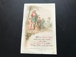 2020 - Divin Coeur De Jesus Donnez Moi Votrecamour, Votre Grace, Et L'horreur Du Péché. Vierge Fidele Priez Pour Nous! - Santini