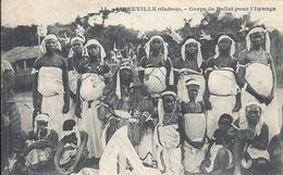 GABON - LIBREVILLE -Coprs De Ballet Pour L'Iwanga - Gros Plan - Gabon