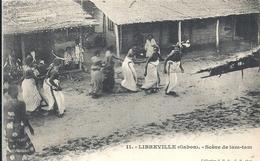 GABON - LIBREVILLE - Scène De Tam Tam - Gabon