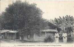 GABON - LIBREVILLE - Case à L'oranger - Village Louis - Gabon