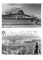 TAAL (Philippines) Ensemble De 2 Cartes Lac Et Lodge - Philippines