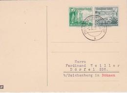 ALLEMAGNE 1938 CARTE DE PILLAU - Germany