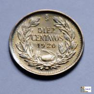 Chile - 10 Centavos - 1920 - Chili