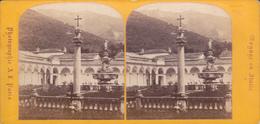 VUE STEREO. 18-004 : ITALIE. TOSCANE. PISE. LE CLOITRE DE LA CHARTREUSE - Stereoscopio