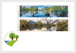 Liechtenstein - Postfris / MNH - FDC Natuurparken 2018 - Liechtenstein
