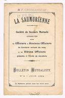 D49 SAUMUR. LA SAUMURIENNE.MILITAIRE.ASPIRANT. ECOLE DE CAVALERIE. 6 LIVRETS. - Livres, BD, Revues