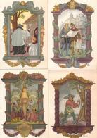 Montaigu Scherpenheuvel - Lot Van 10 Postkaarten Uit De Geschiedenis Van O.L.V. Van Scherpenheuvel - Ill. Luc Van Hoek - Scherpenheuvel-Zichem