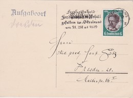 ALLEMAGNE 1934 CARTE  DE STRALSUND - Briefe U. Dokumente
