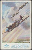 Royal Air Force Supermarine Spitfire, C.1940 - Salmon Postcard - 1939-1945: 2nd War