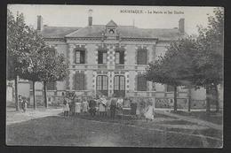 BOURSAULT - La Mairie Et Les Ecoles - Francia