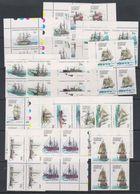 AAT 1979 Definitives / Ships 16v Bl Of 4 ** Mnh (39096) - Australisch Antarctisch Territorium (AAT)