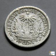 Haití - 10 Céntimos - 1869 - Haïti