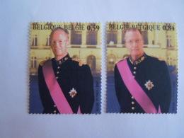 België Belgique 2003 Koning Boudewijn En Albert II Rois Baudouin & Albert II 3202-3203 Yv 3189-3190 MNH ** - Belgium