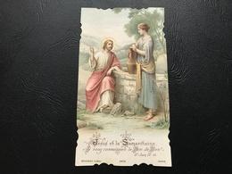 2473 - Jesus Et La Samaritaine. Si Vous Connaissiez Le Bon Dieu! 1908 - Santini