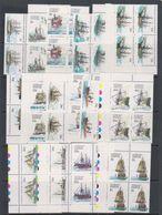 AAT 1979 Definitives / Ships 16v Bl Of 4 ** Mnh (39097) - Australisch Antarctisch Territorium (AAT)