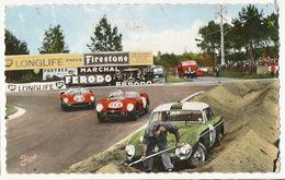 Le Mans Circuit Des 24 Heures Format 9/14 1964 Incident Au Virage De Mulsanne Ferodo Firestone BP - Le Mans