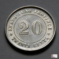 China - Kwangtung Province - 20 Cents - 1912-1924 - China
