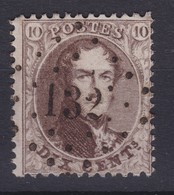 N° 14 A LP 132 FONTAINE L EVEQUE - 1863-1864 Medallones (13/16)