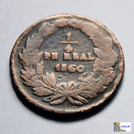 México - Chihuahua - 1/4 Real - 1860 - México