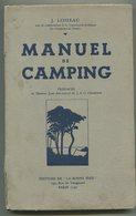 J. LOISEAU Manuel De Camping 1936 - Livres, BD, Revues