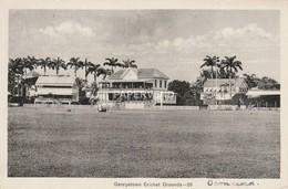 British Guiana  GEORGETOWN  Cricket Ground  Bg319 - Postcards