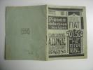 1929 FIAT Voitures Automobiles Car Sales Brochure Manuel PIECES DETACHEES Prix - Vecchi Documenti