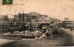 MARSEILLE -13- LE FORT ST NICOLAS - Endoume, Roucas, Corniche, Plages