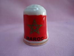 Dé : Drapeau Du Maroc - Ditali Da Cucito