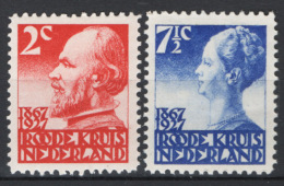 Olanda 1927 Unif. 190a,193a **/MNH VF - Unused Stamps