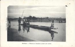 CENTREAFRIQUE - République Du Centre Afrique - BANGUI - Pêcheurs Sangjos Jetant Une Seine - Centrafricaine (République)