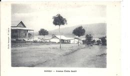 CENTREAFRIQUE - République Du Centre Afrique - BANGUI - Avenue Emile Gentil - Centrafricaine (République)