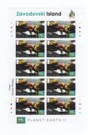 R21 South Georgia Full Sheet Zavodovski Island MNH - South Georgia