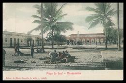 MOÇAMEDES  - Praça Do Leal - Mossamedes ( Ed. A. Biker, Deposito De Gello )  Carte Postale - Angola