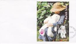 Norfolk Island 1999 Year Of Rabbit China '99 Sc 672a - Norfolk Island