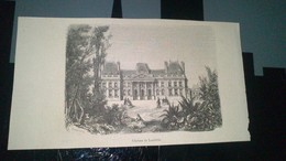 Gravure - Château De LUNEVILLE - Manifesti